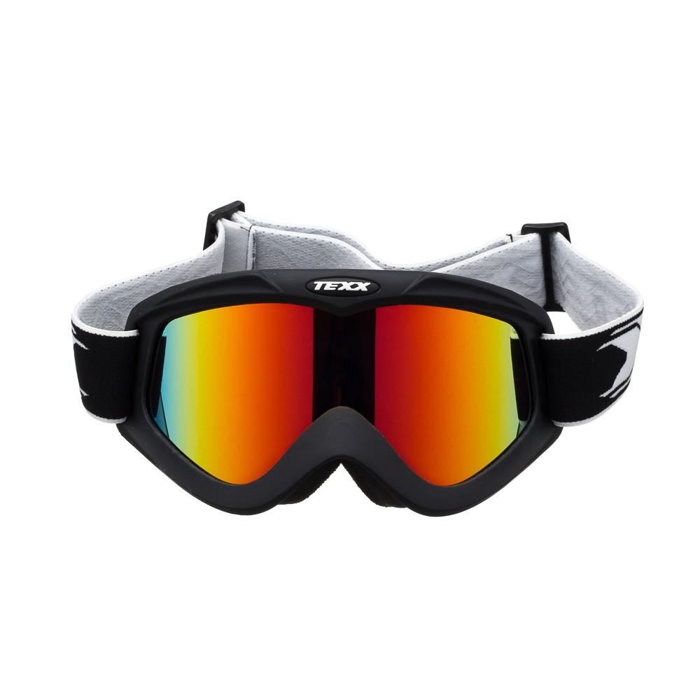 Óculos Cross Texx FX-4 Preto Fosco Lente Iridium Espelhada