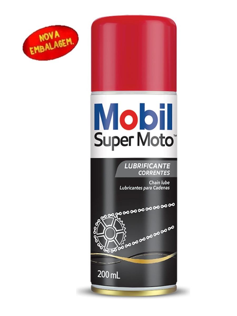 Óleo Lubrificante Para Correntes Chain Lube Super Moto 200ml Mobil