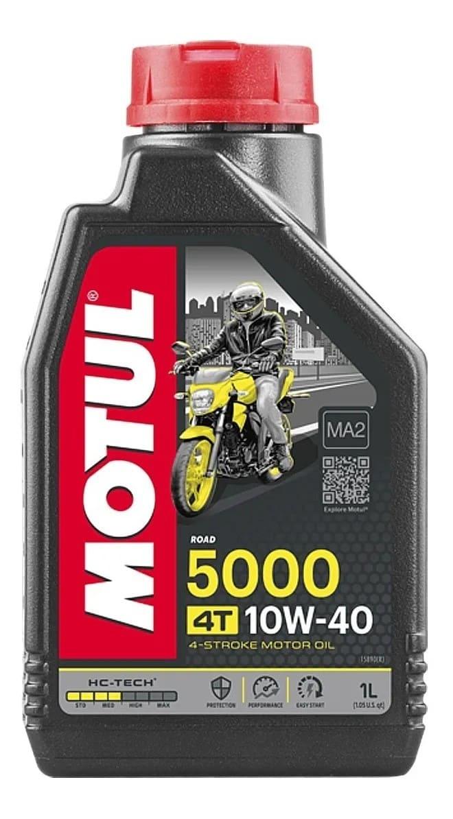 Óleo Motul 10W-40 4T 5000 HC-Tech Semissintético 1 Litro