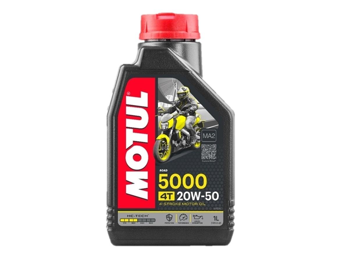 Óleo Motul 20w50 4T 5000 HC-Tech Semissintético 1 Litro