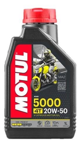Óleo Motul 20W50 5000 4T HC-Tech Semissintético 1 Litro