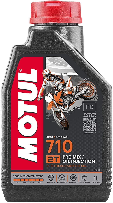 Óleo Motul 710 2T 100% Sintético Ester 1 Litro