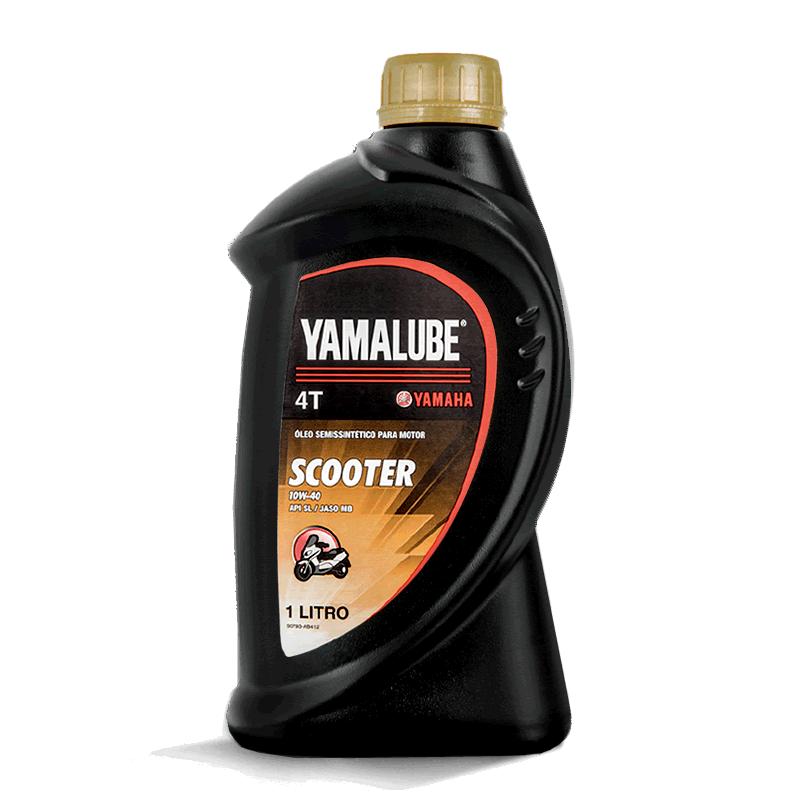Óleo Yamalube 10w40 4T Semissintético Scooter 1 Litro