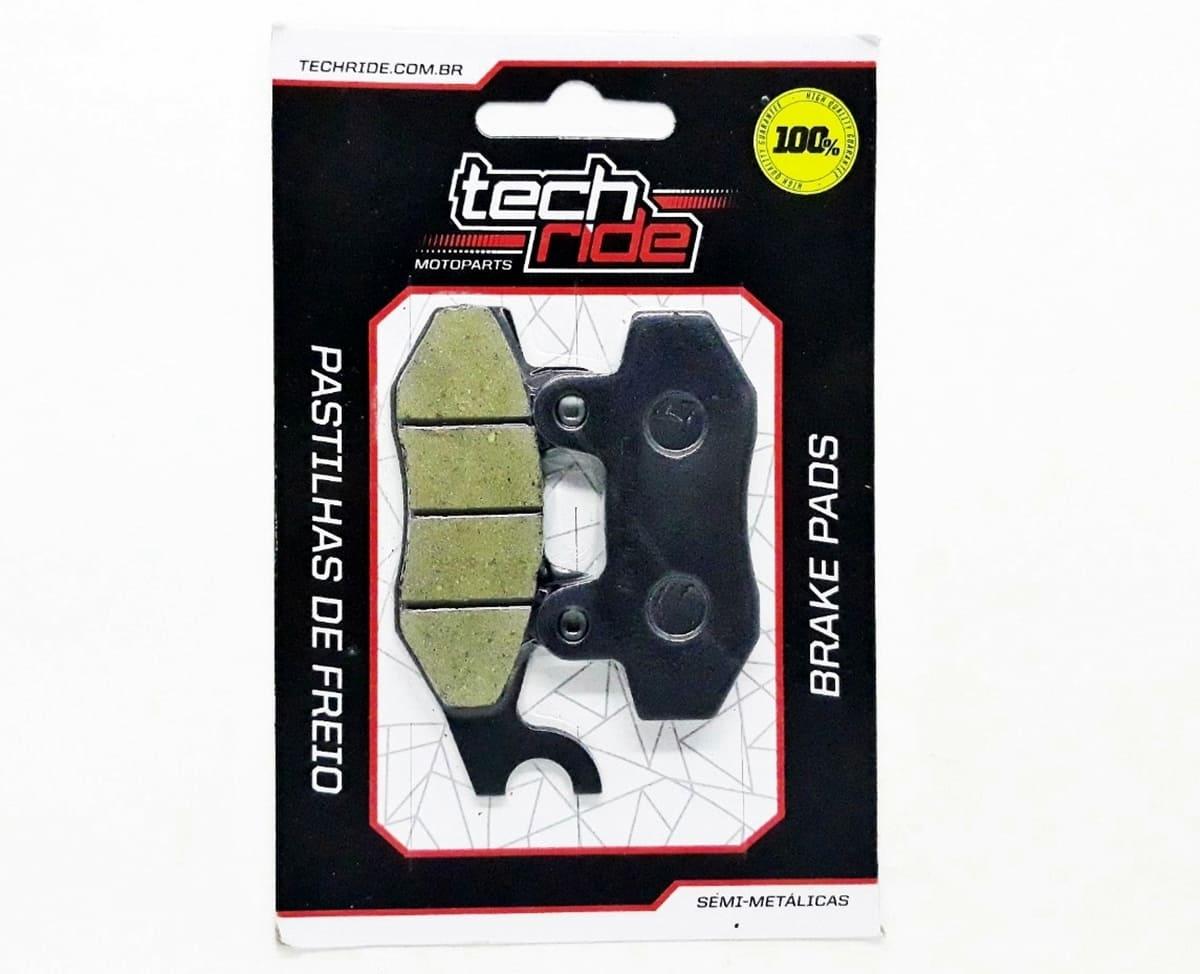 Pastilha De Freio Dianteira Twister 250 / CB 300 S-ABS / YBR 125 / Fazer 250 / Ninja 250-300 / Apache Tech Ride