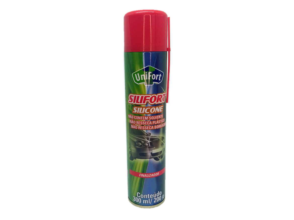 Silicone Spray Automotivo Uso Geral 300ml/200g Unifort