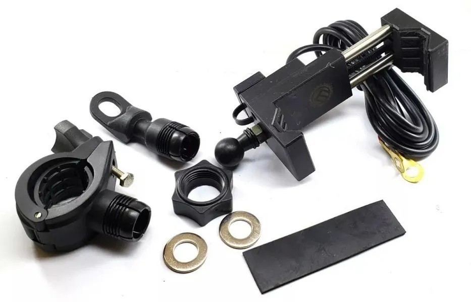 Suporte Para Celular-GPS C/ Carregador USB Universal Embu's