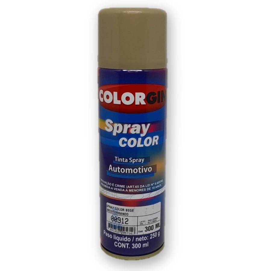 Tinta Spray Automotivo Bege Mediterrâneo 300ml Colorgin