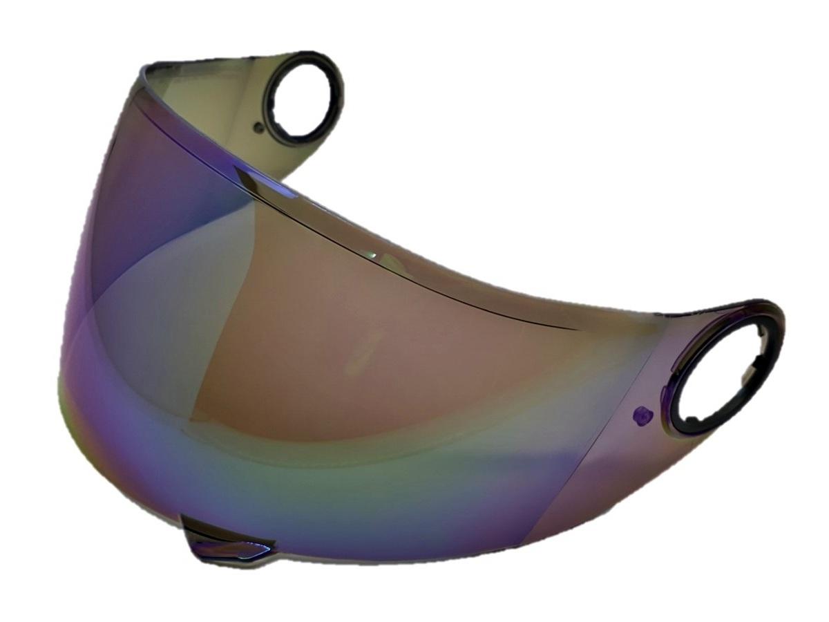 Viseira Camaleão Capacete Helt 965 New Race Glass / 968 Tour Anti Risco 2mm Original
