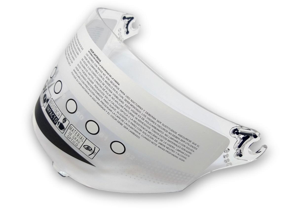 Viseira Cristal Capacete Bieffe 3 Sport Anti Risco 2mm Original