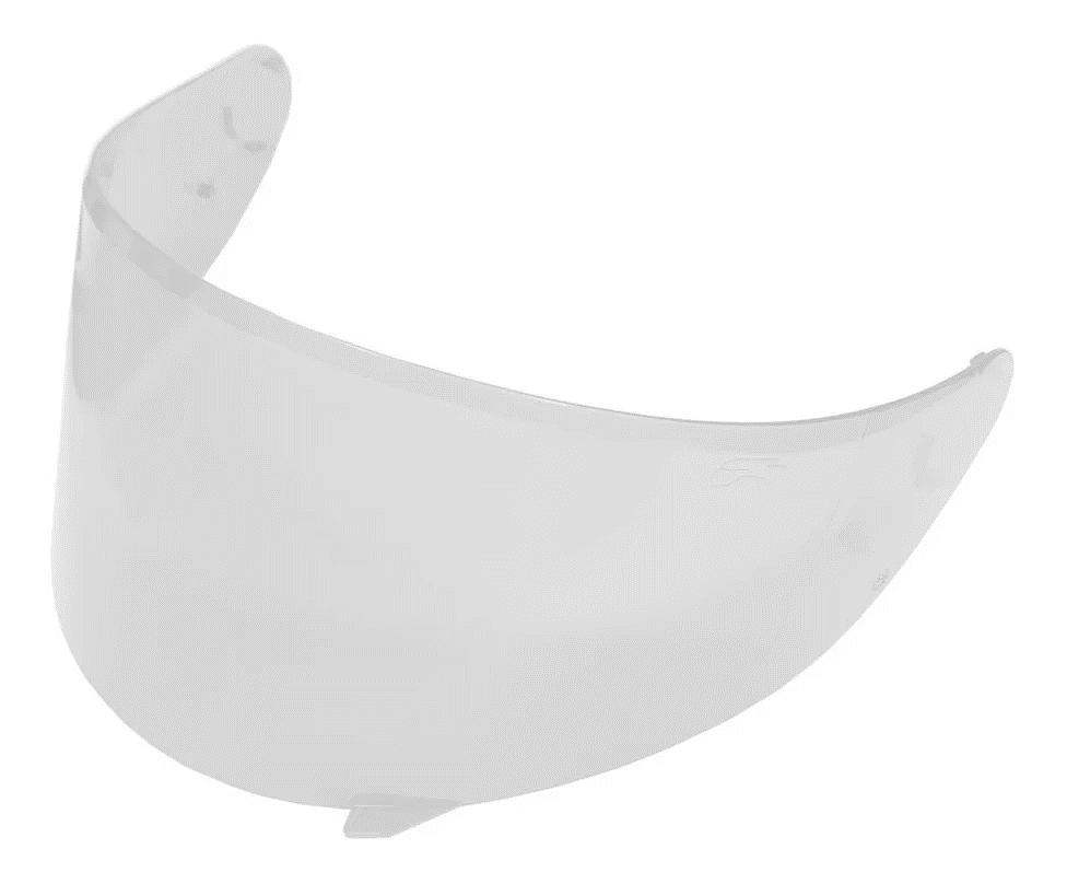 Viseira Cristal Capacete Helt 967 New Race Anti Risco 2.2mm Polivisor