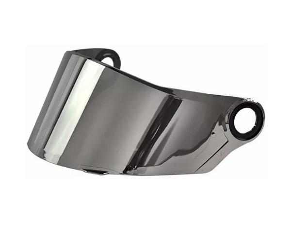 Viseira Cromada Capacete Helt Strada / LS2 FF358-FF396 Anti Risco 2.2mm Polivisor