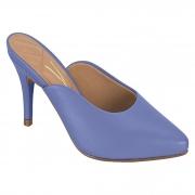 Salto feminino mule violeta 1185-895