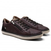 SAPATÊNIS TRY WAY MASCULINO BK4009 BORDO