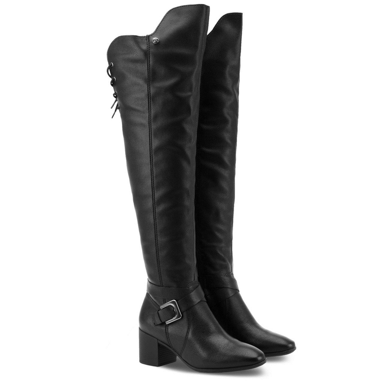 BOTA BOTTERO FEMININO OVER 314207 PRETO