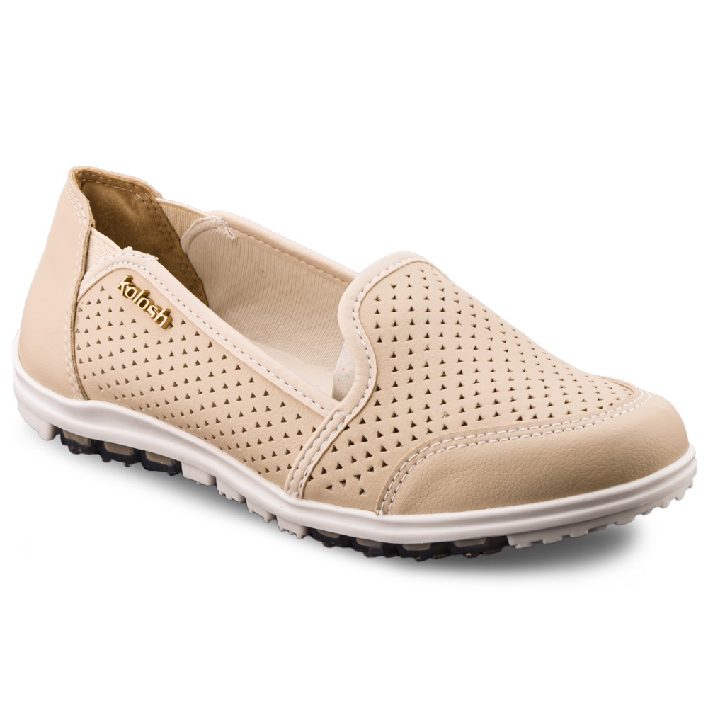 TÊNIS KOLOSH SLIP ON FEMININO CASUAL C0529 MACHIATO