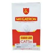 CABO REDE UTP BRANCO 305M - CAT5E MEGATRON