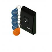 CONTROLE DE ACESSO RFID PRETO - LIDER LR300