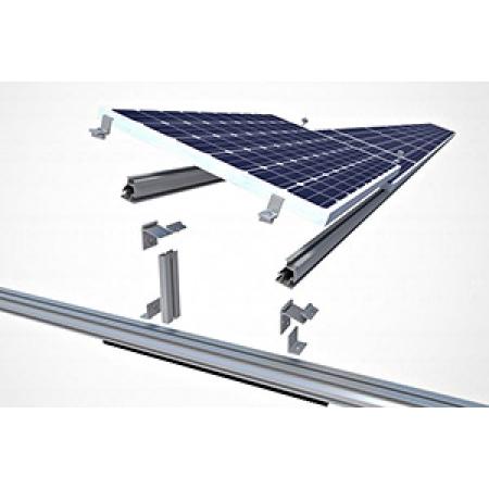 ESTRUTURA ENERGIA SOLAR TELHA CERAMICA 4 PLACAS  -411101