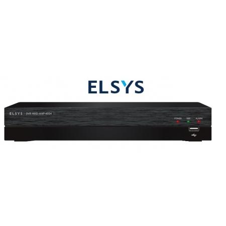 GRAVADOR ANPOE FULL HD 5X1 ELSYS 4CH CANAIS - MHD-ANP-4004