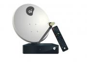 KIT OI TV HD NOVO COM ANTENA 60CM LNB SIMPLES