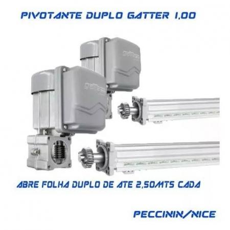 PIVO GATTER 127V 1.00M - DUPLO - 10004267 - FOLHA ATE 2.5M