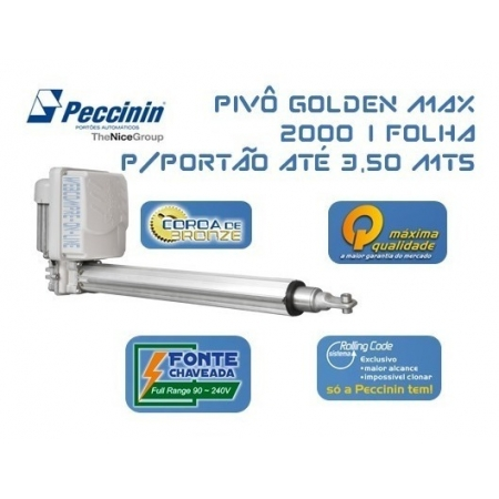 PIVO GOLD MAX 127V - SIMPLES - 10004397 - FOLHA ATE 3.5M