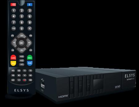 RECEPTOR DE TV SATELITE ELSYS SATMAX PLUS - ETRS55