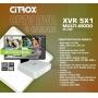GRAVADOR DVR 8CH FULL HD CITROX - 5X1 - CX-2708