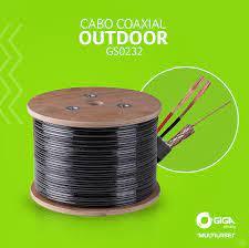 CABO CAMERA BLINDADO HD 5MM PRETO HD-40 GIGA - 85% - GS0232