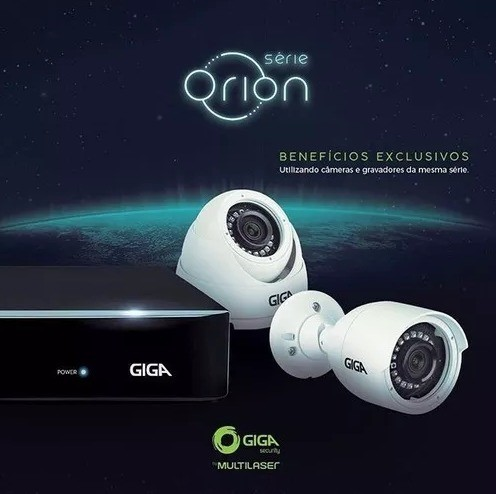 CAMERA GIGA HD 720P 20M TUBULAR EXTERNA - ORION - GS0018