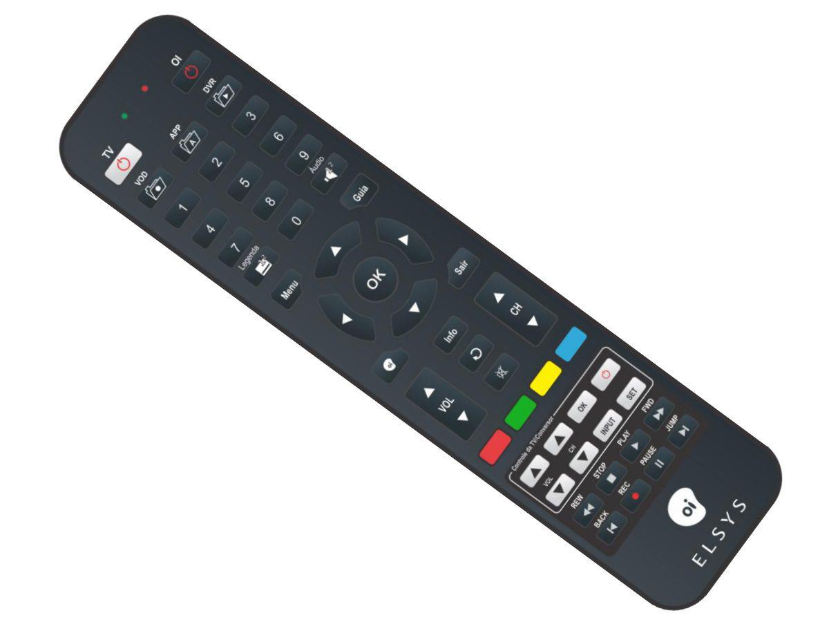 CONTROLE REMOTO OITV HD SES6 ORIGINALINTELIGENTE