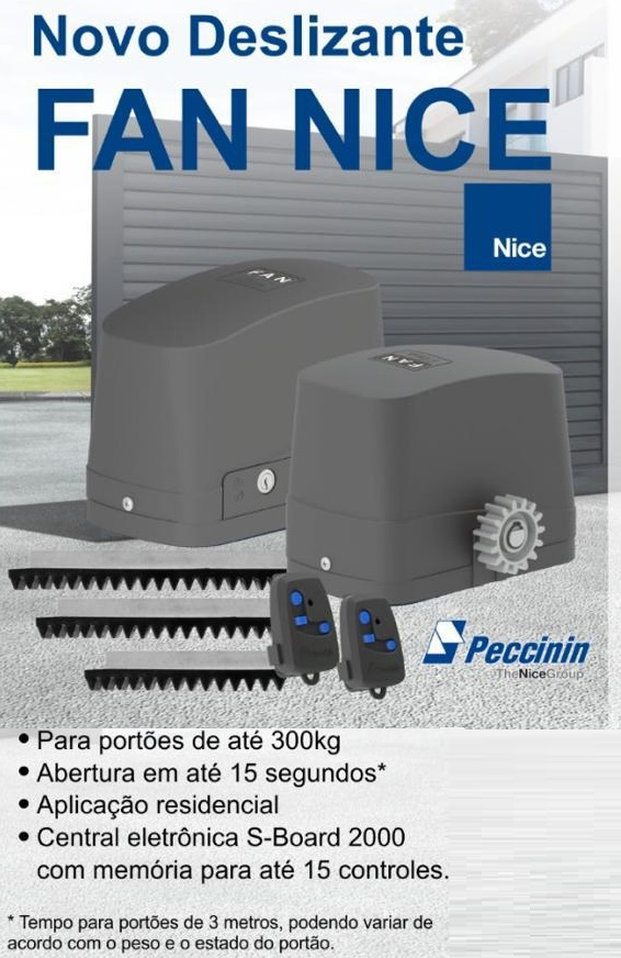 MOTOR DESLIZANTE PECCININ FAN 127