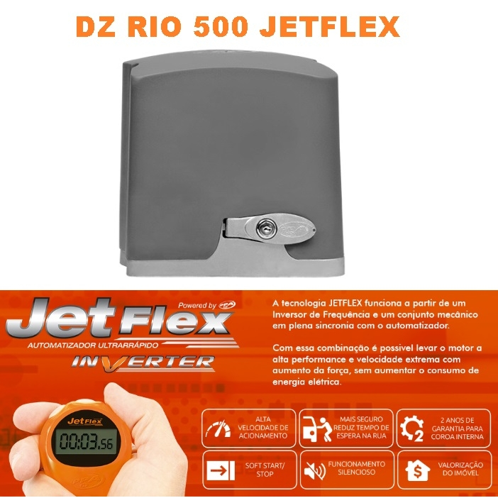 DZ RIO 500 BIVOLT JETFLEX FACILITY HIBRIDA - PPA - F02504024