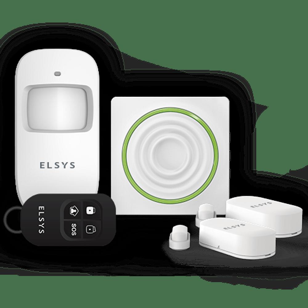 KIT ALARME WIFI COM SENSORES SEM FIO ESA-KW1080 ELSYS