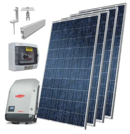 KIT ENERGIA SOLAR FOTOVOLTAICO 3,3 KWP
