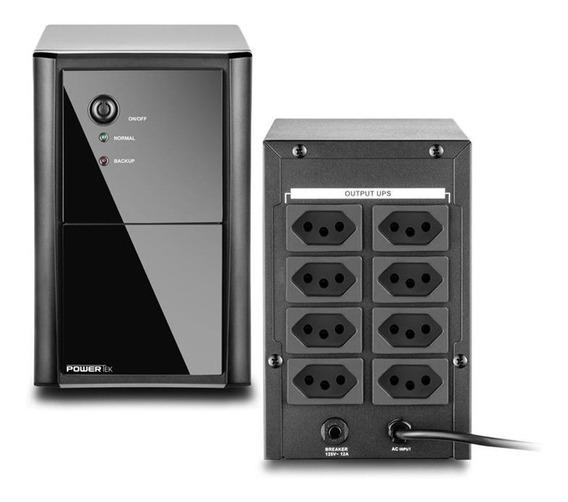 NOBREAK (UPS) 1440VA/BIVOLT POWERTEK GIGA 8 TOMADAS - GS0175