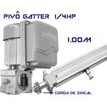 PIVO GATTER 220V 1.00M - DUPLO - 10004269 - FOLHA ATE 2.5M