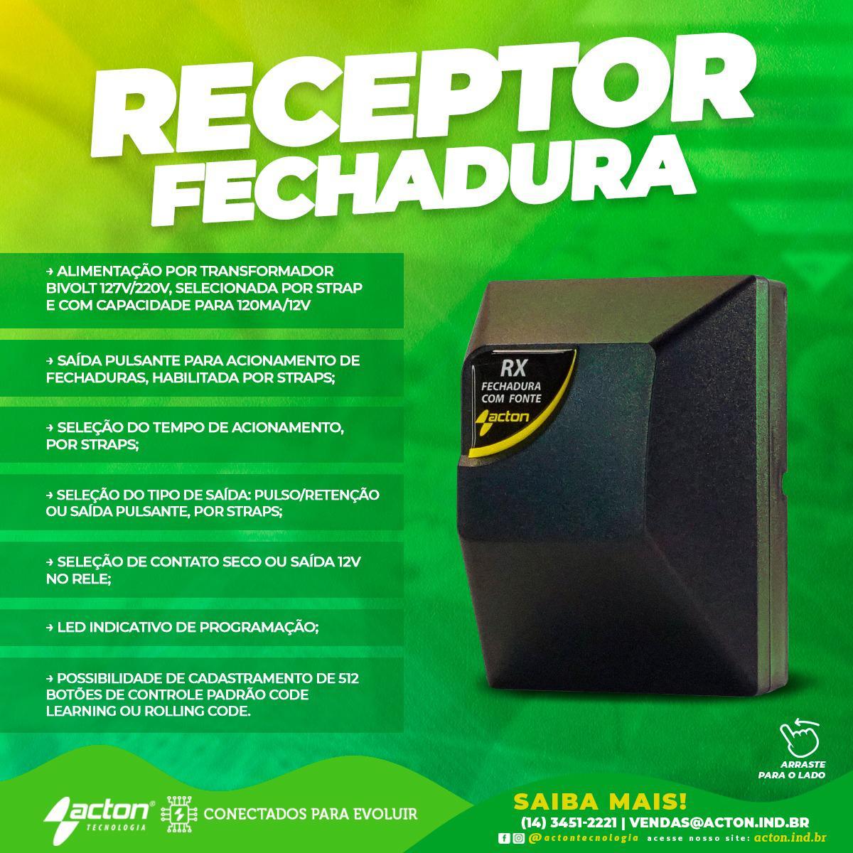 RECEPTOR AC4 FECHADURA