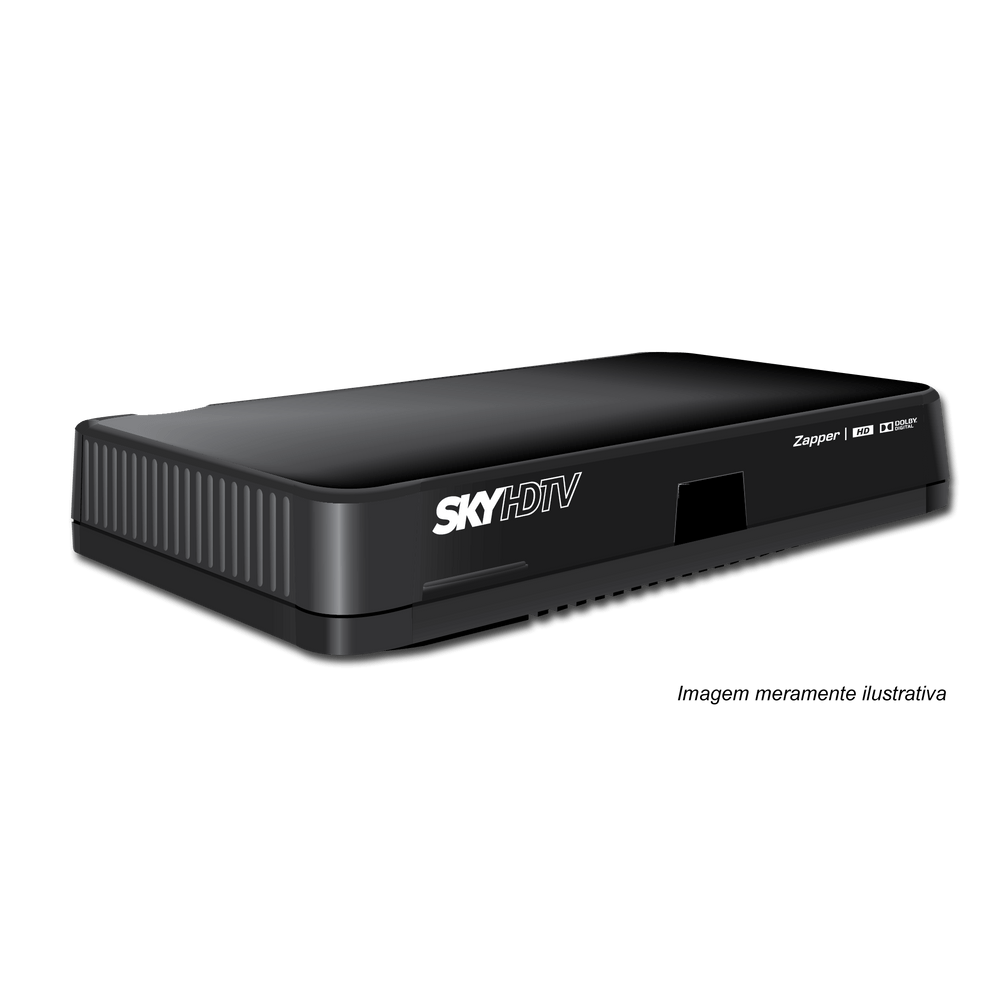 RECEPTOR DE TV VIA SATELITE SKY CONFORTO HD ZAPPER - ETRS56