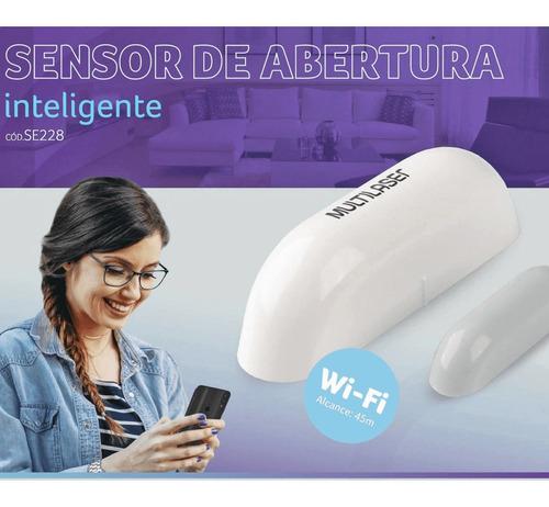 SENSOR MAGNETICO SMART PORTA/JANELA WIFI -SE228- LIV MULTILASER