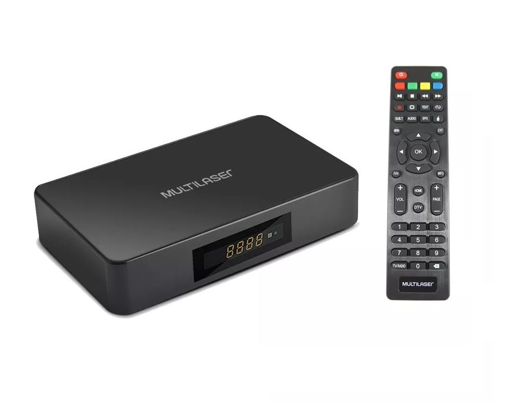 SMART TV BOX HIBRIDO ANDROID + CONVERTER MULTILASER - PC001