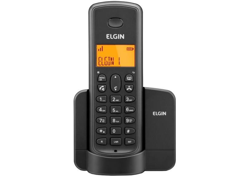 TEL SEM FIO ELGIN COM VIVA-VOZ IDENT. CHAM. PRETO - TSF-8001
