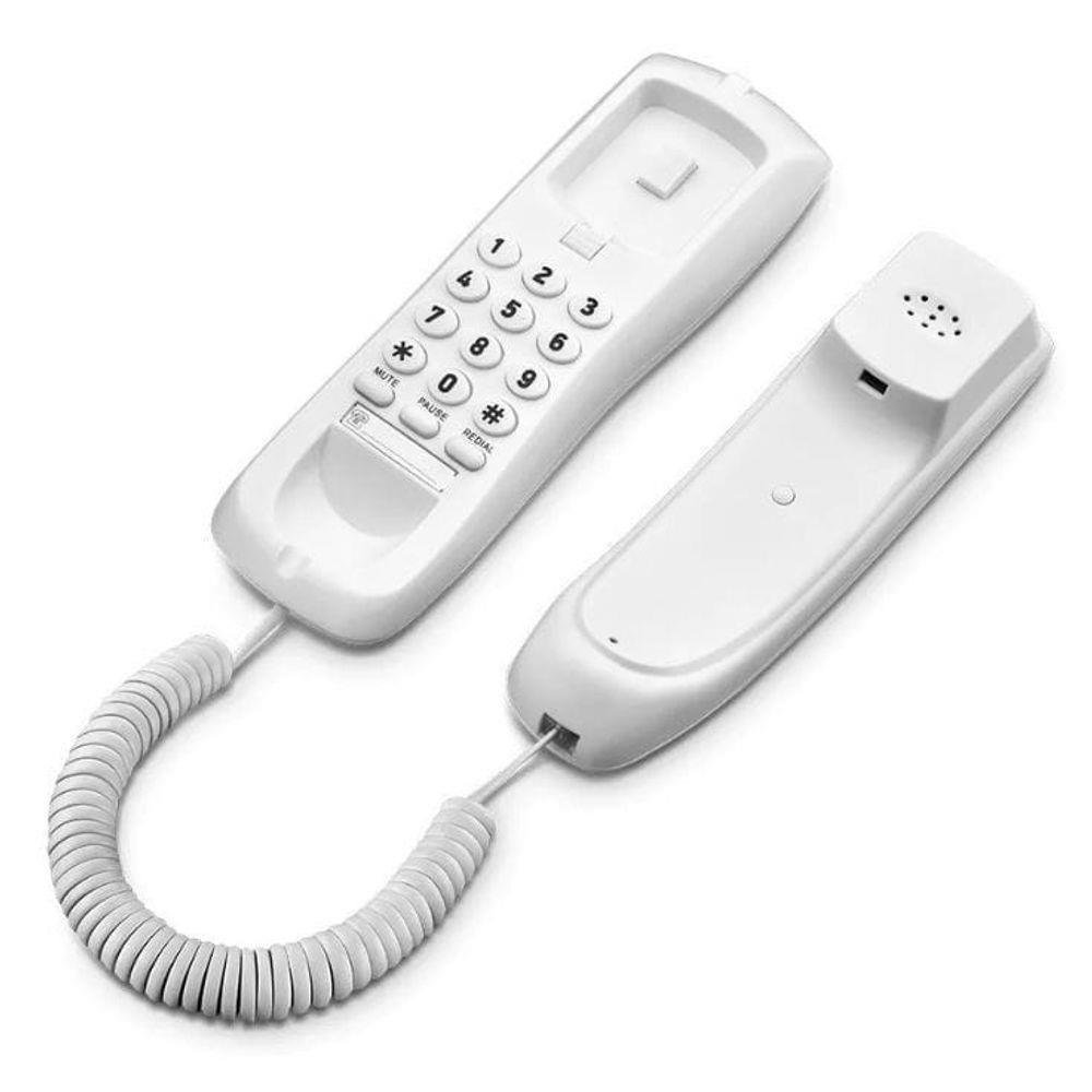 TELEFONE TERMINAL ELGIN COM FIO C/ TECLADO - TED100 BRANCO