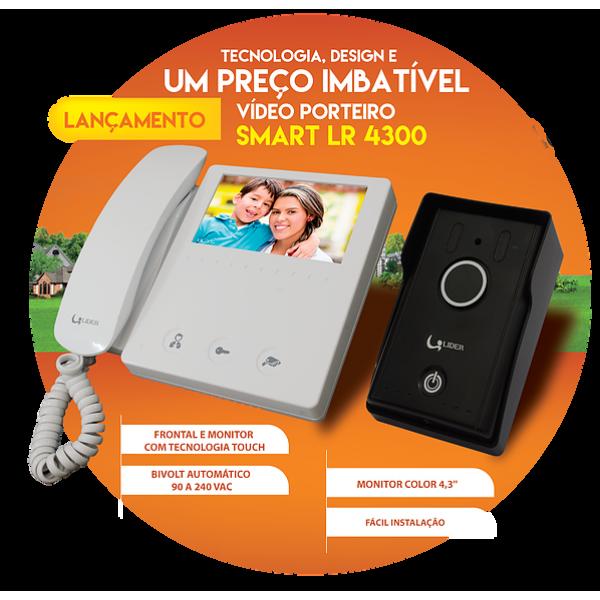 VIDEO PORTEIRO LIDER 4.3 LR4300