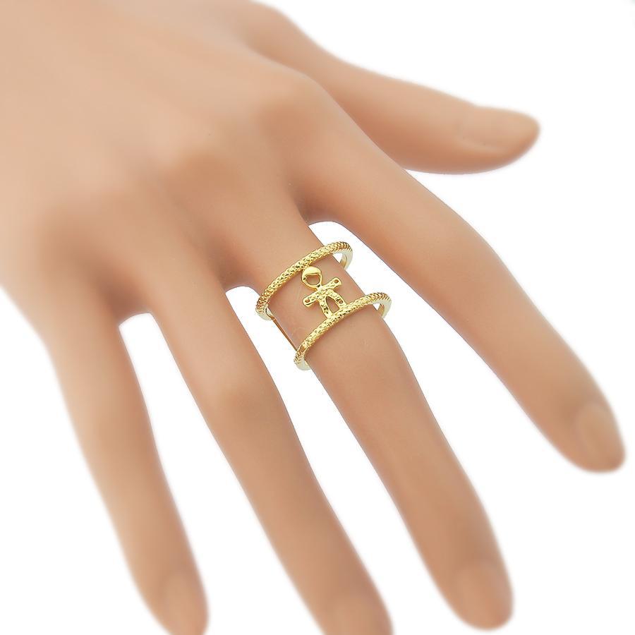 anel filhos menino semijoia dourado