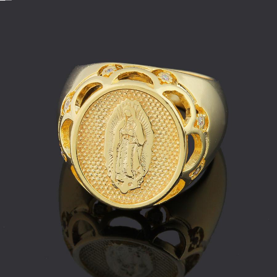 anel Nossa Senhora de Fatima bolas