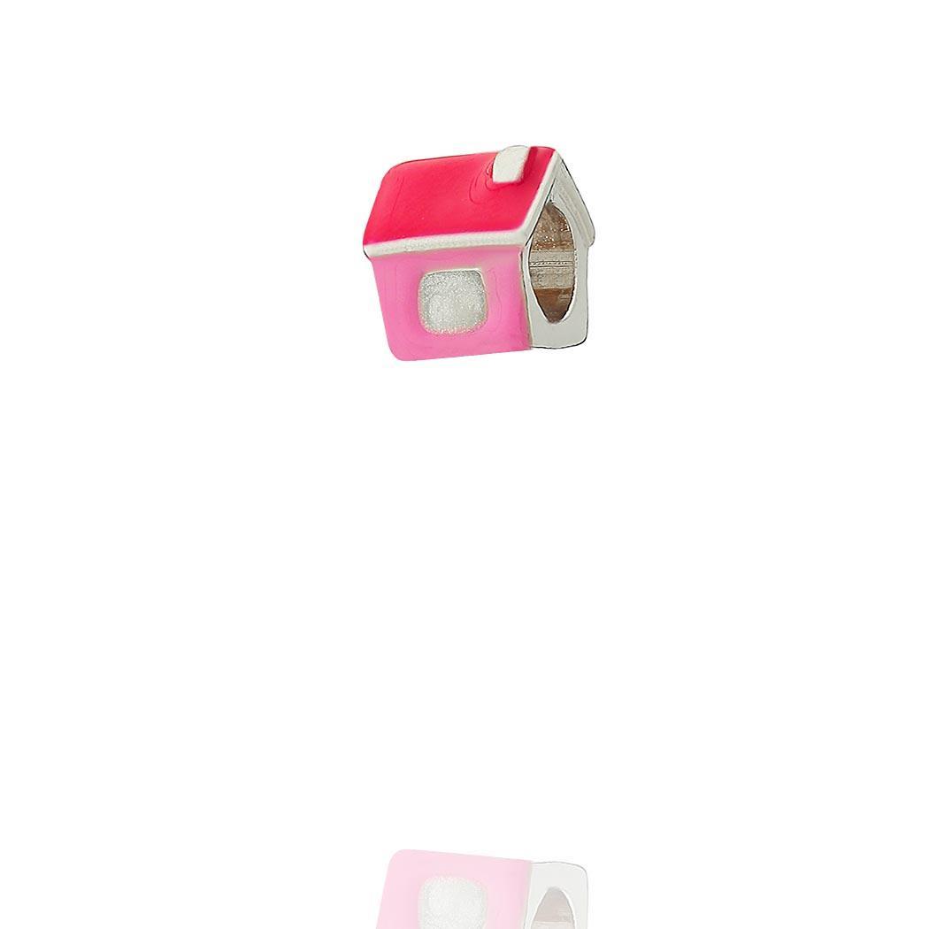 berloque casa rosa passante