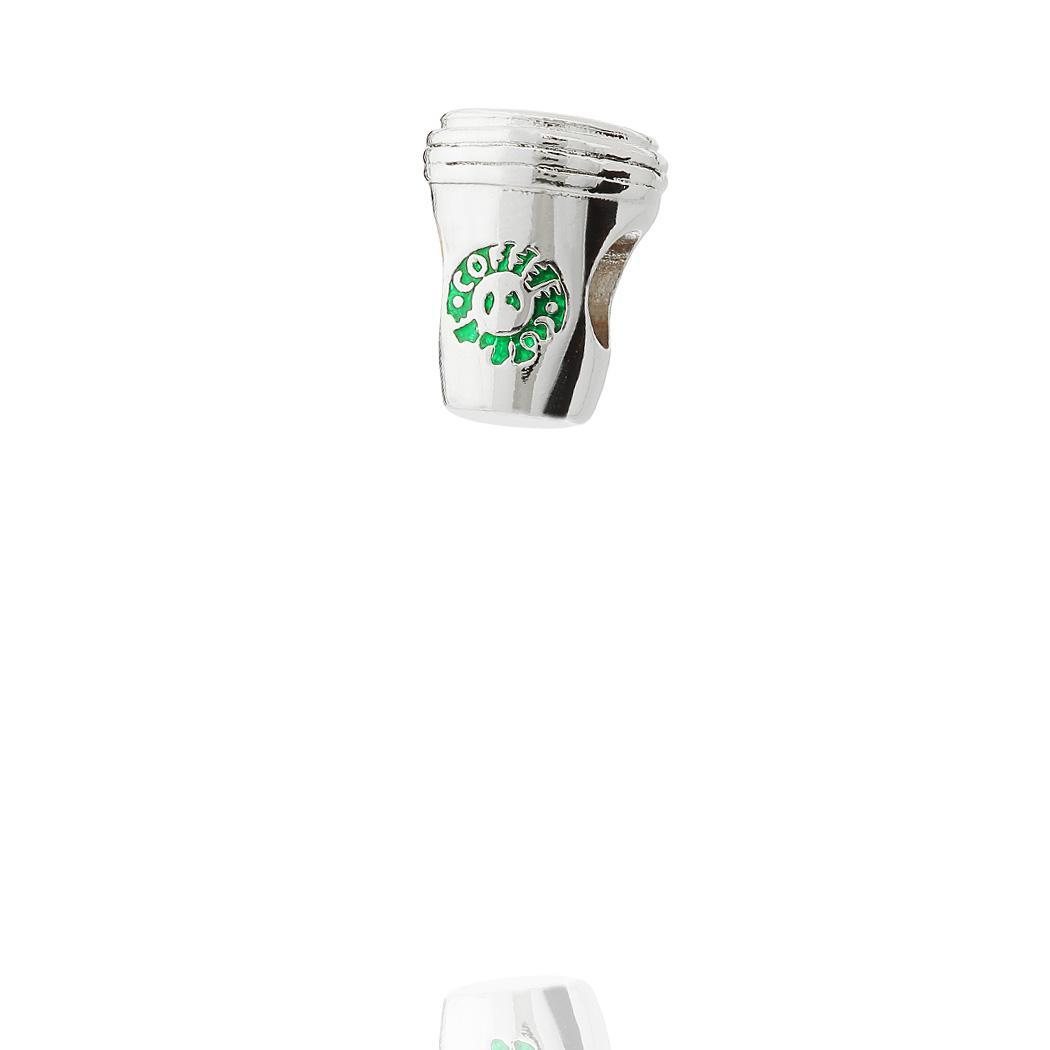 berloque copo coffee verde