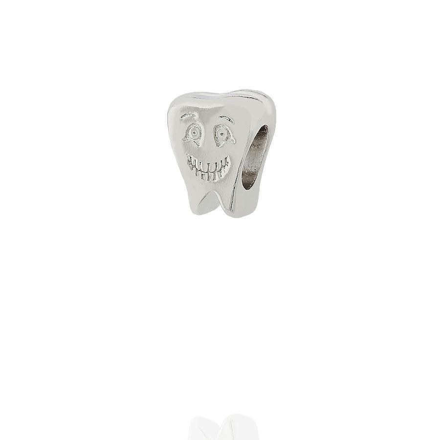 berloque dente smile odontologia