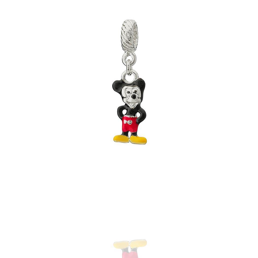 berloque mickey mouse esmaltado